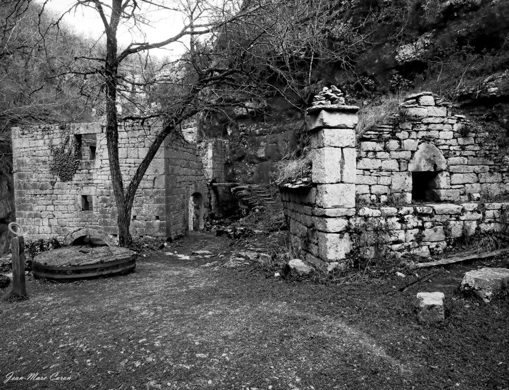 Gorges de l'Alzou – Moulin du Saut